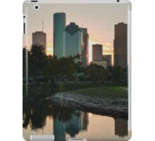 Reflections of Houston iPad Case/Skin