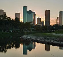 Reflections of Houston by fuglee