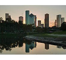 Reflections of Houston Photographic Print