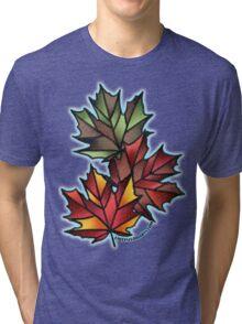Maple Leaves for Fall Tri-blend T-Shirt