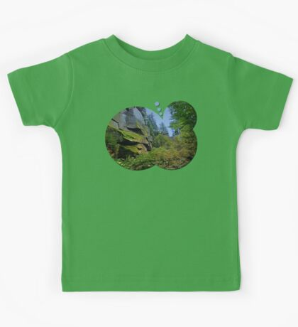 Mountain, granite rocks and pure nature | landscape photography Kids Tee