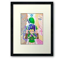 Ocarina of Time Framed Print