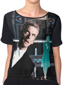 The Doctor and the Hologram Chiffon Top