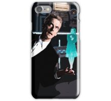The Doctor and the Hologram iPhone Case/Skin