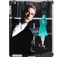 The Doctor and the Hologram iPad Case/Skin