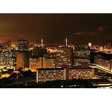 Kowloon at Night Photographic Print