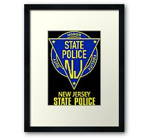 New state police new jersey Framed Print