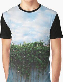 Foliage Waterfall Graphic T-Shirt