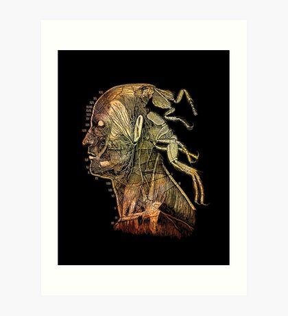 war of the flea Art Print