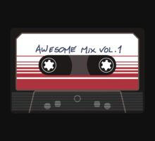 Awesome Mix Vol 1 Baby Tee