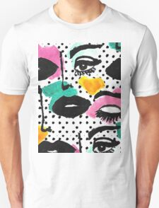 80s Face Unisex T-Shirt