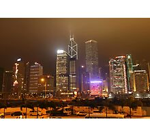 Downtown Hong Kong Photographic Print