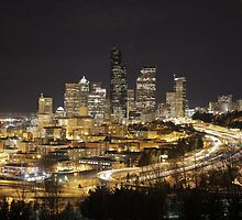 Downtown Seattle by fuglee