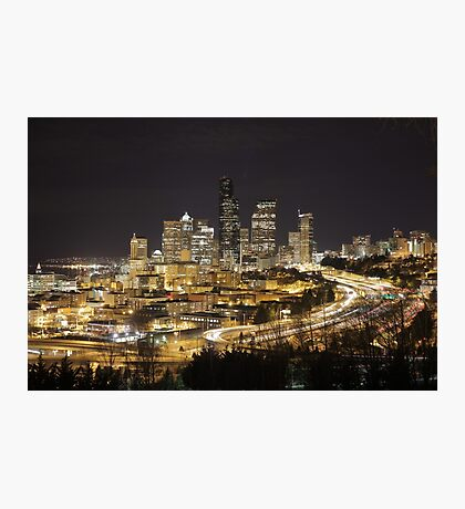 Downtown Seattle Photographic Print