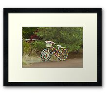 The Knitted Bike #2 Framed Print