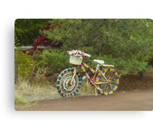 The Knitted Bike #2 Canvas Print