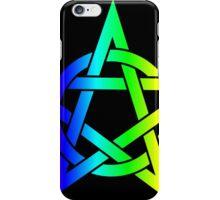 Rainbow Pentagram iPhone Case/Skin