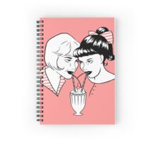 Fifties Gals Spiral Notebook