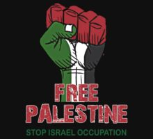 FREE PALESTINE, PRAY FOR GAZA, STOP ISRAEL OCCUPATION, by awesomegift