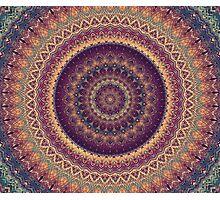 Mandala 108 Photographic Print