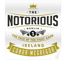 Conor McGregor - Face of the fight game Poster