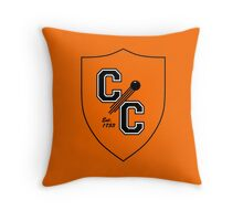 Chudley Cannons Logo Throw Pillow
