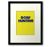 Pokemon Go Hunting Framed Print