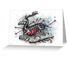 The Wounded Deer Greeting Card