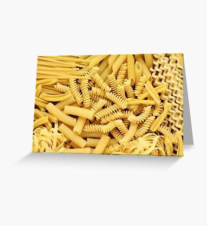 pasta is important Greeting Card