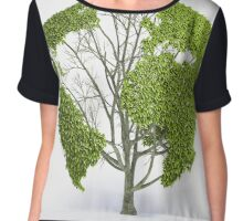 Tree Life Chiffon Top