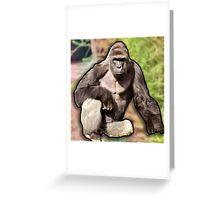 Harambe Art Greeting Card
