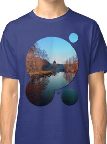 Winter mood on the river | waterscape photography Classic T-Shirt
