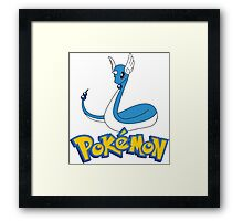 dragon pokemon Framed Print
