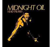 MIDNIGHT OIL,HEAD INJURIES Photographic Print