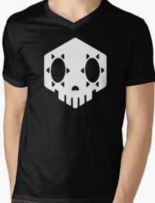 Sombra's Skull Mens V-Neck T-Shirt