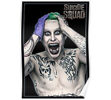 THE JOKERS SUICIDE SQUAD Poster