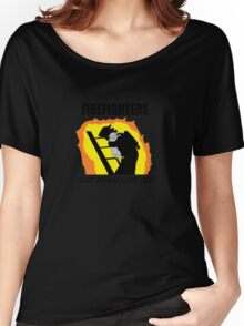 FireFighters saving Animals too Women's Relaxed Fit T-Shirt