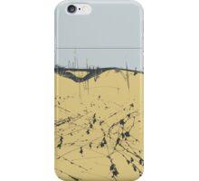 sandy shore. black sea iPhone Case/Skin