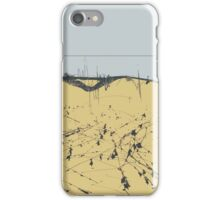 sandy shore. black sea iPhone Case/Skin