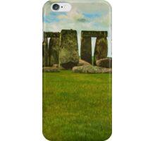 Stonehenge - Degas Style iPhone Case/Skin