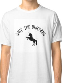 Save the Unicorns Classic T-Shirt