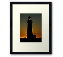 Yaquina Head Lighthouse ~ Part One Framed Print