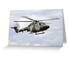 Westland Lynx Greeting Card
