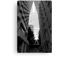 Transamerica Pyamid - San Francisco USA Canvas Print