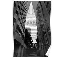 Transamerica Pyamid - San Francisco USA Poster