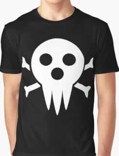 Lord Death Jolly Roger  Graphic T-Shirt