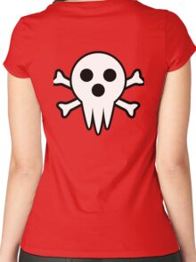 Lord Death Jolly Roger  Women's Fitted Scoop T-Shirt