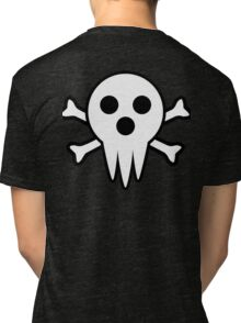 Lord Death Jolly Roger  Tri-blend T-Shirt