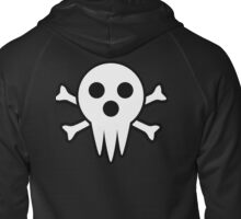 Lord Death Jolly Roger  Zipped Hoodie