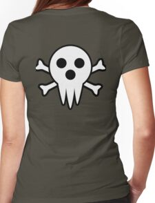 Lord Death Jolly Roger  Womens Fitted T-Shirt